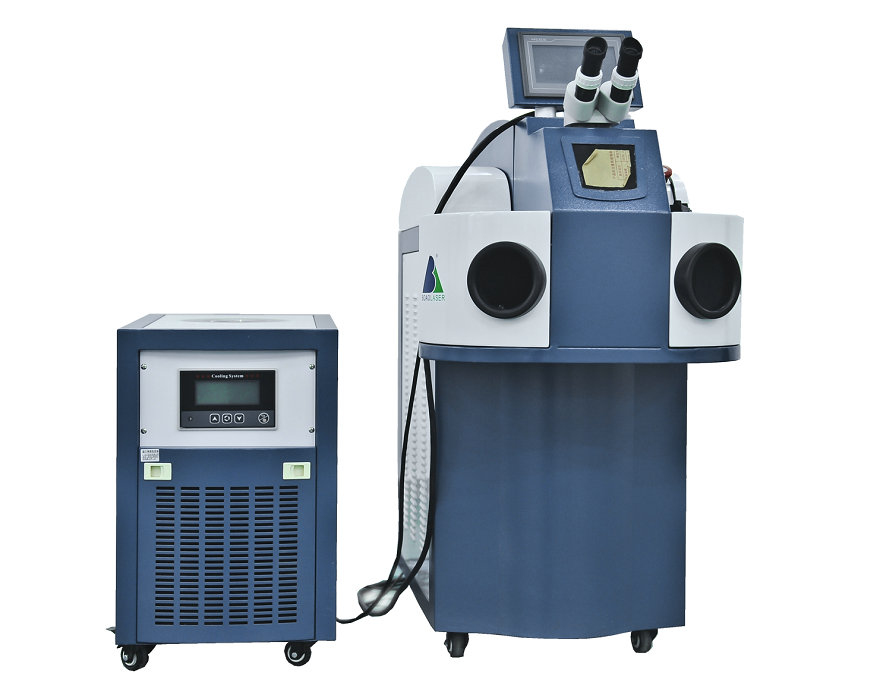jewelry laser welding machine water cooling model